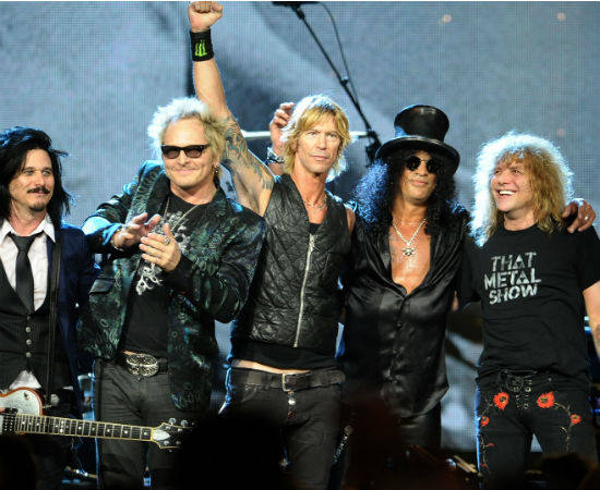 Guns N' Roses — 2012-04-12 — Rock N'Roll Hall Of Fame Induction Ceremony
