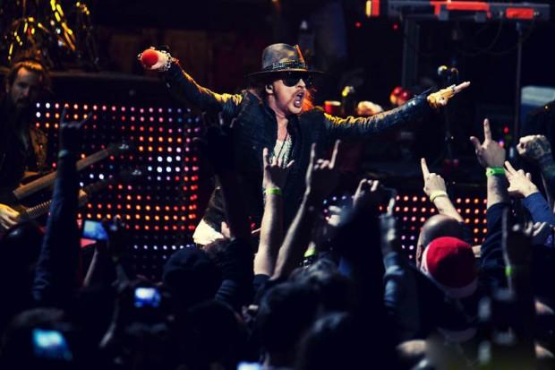 Guns N' Roses приступили к записи нового альбома